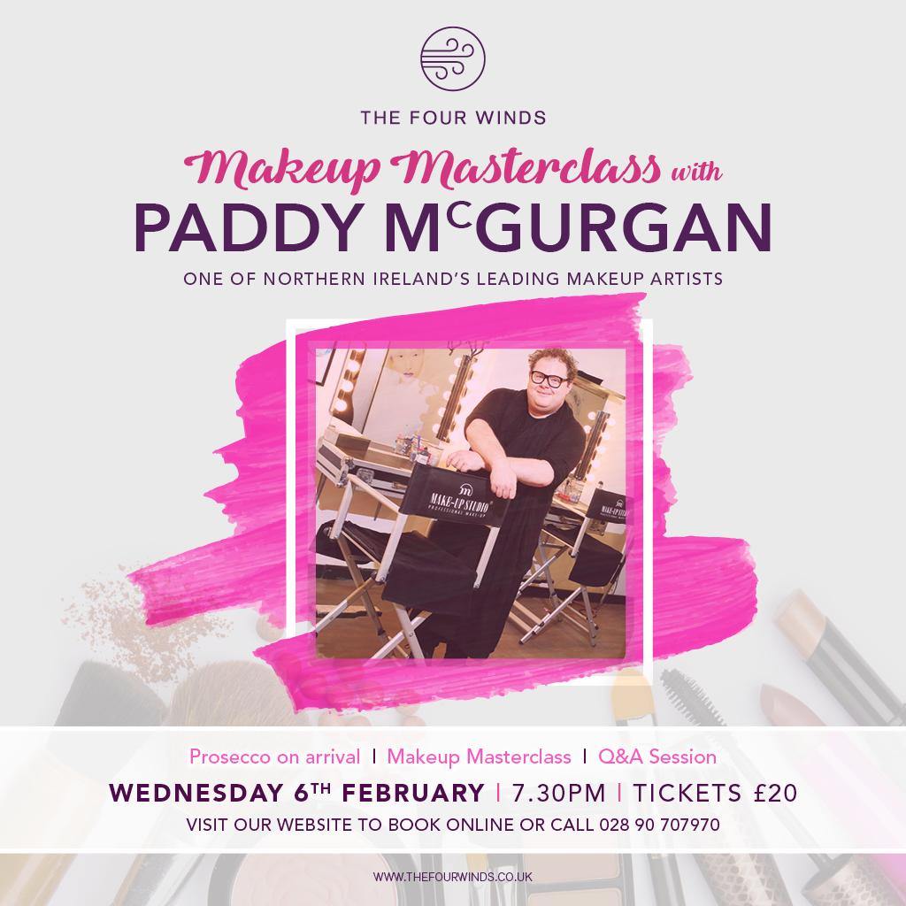 Paddy McGurgan Makeup Masterclass - The Four Winds